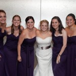 Bridesmaids upstairs in the loft